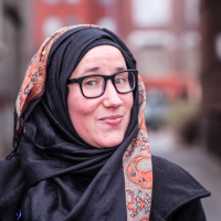 Lauren Schreiber is the Executive Director and co-founder of Center DC, a growing third-space community in Washington, DC, that focuses on building authentic relationships between those practicing and exploring Islam and The Divine. Her community serves over 4,000 Muslims through hundreds of events annually; the majority are between the ages of 25 and 35. She lives for strategic planning, facilitation, and culture creation and is passionate about creating welcoming, healthy spaces where authenticity and differences of opinions simultaneously thrive. Lauren has had the privilege of studying Islamic sciences under both Shaykh Suhaib Webb and Ustedah Ieasha Prime. She is currently pursuing a degree in Islamic Chaplaincy at Hartford Seminary, and plans to open a community-based chaplaincy program through Center DC upon the completion of her coursework. She recently celebrated her 10th year of being Muslim. Her most important jobs are being a wife and mama to a 3 year old girl. In her spare time, you can find her making pupusas, writing music, and convening monthly gatherings of Muslim Practitioners of Restorative and Transformative Justice, a peer learning group she co-founded in 2020.